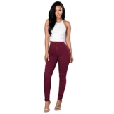 Ularma Damen High-Waist Stretch Röhrenjeans Denim Jeans Modern Lässige Hosen - 1
