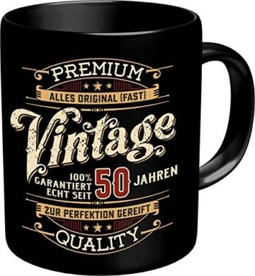 RAHMENLOS Vintage 50 Jahre Tasse - 1