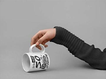 Tasse mit tollem Spruch Geschenkidee zum 50. Geburtstag | Ich bin nicht 50 Ich bin 18 mit 32 Jahren Erfahrung| Schöne Kaffee-Tasse von Shirtinator® - 5