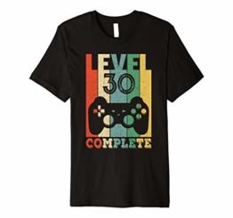 30 Jahre Geburtstag Männer Shirt Geschenk zum 30. Geburtstag - 1
