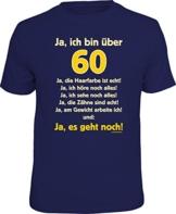 Das Geschenk T-Shirt zum 60. Geburtstag - 1