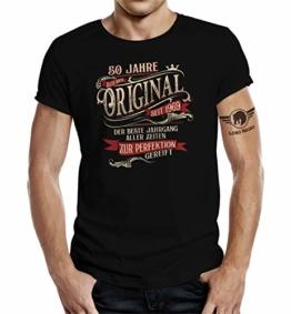 Design, T-Shirt zum 50. Geburtstag: Alles Original - Der Beste Jahrgang - 1