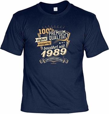 lustiges T-Shirt 30 Geburtstag 30 Jahre Shirt Leiberl Papa Geschenk zum 30 Geburtstag 30 Jahre Geburtstagsgeschenk 30-jähriger Jahrgang 1989 - 1