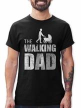 Shirtracer The Walking Dad Herren T-Shirt Vatertag Geburtstag Geschenk - 1