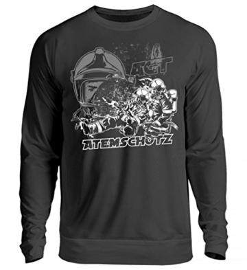 Shirtee Feuerwehr | Atemschutz | AGT | PA – Unisex Pullover -