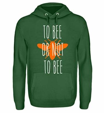 Shirtee ++ to BEE OR NOT to BEE ++ - Unisex Kapuzenpullover Hoodie - 1