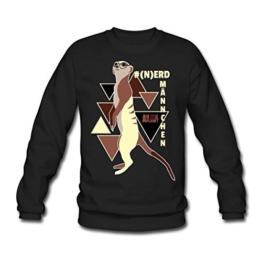 Spreadshirt Animal Planet Erdmännchen Männer Pullover - 1