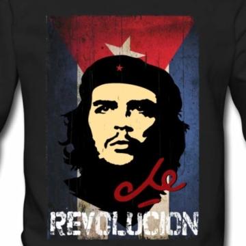 Spreadshirt Che Guevara Revolución Kubanische Flagge Männer Pullover - 2