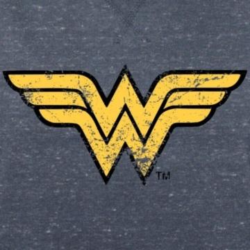 Spreadshirt DC Comics Justice League Wonder Woman Logo Frauen Bio-Sweatshirt von Stanley & Stella - 2