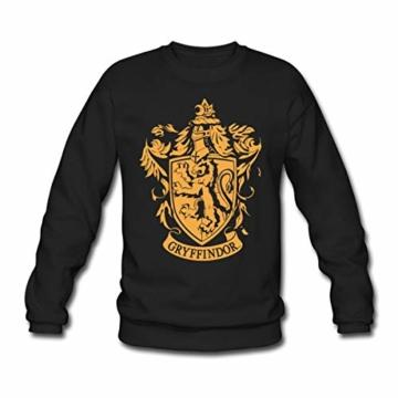 Spreadshirt Harry Potter Gryffindor Wappen Männer Pullover - 1