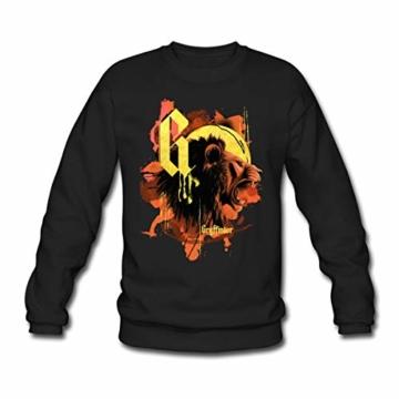 Spreadshirt Harry Potter Haus Gryffindor Löwe Männer Pullover - 1