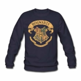 Spreadshirt Harry Potter Hogwarts Wappen Männer Pullover - 1