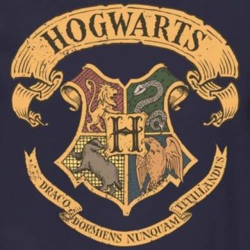 Spreadshirt Harry Potter Hogwarts Wappen Männer Pullover - 2