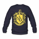 Spreadshirt Harry Potter Hufflepuff Wappen Männer Pullover - 1