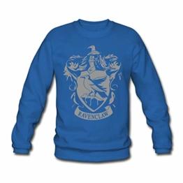Spreadshirt Harry Potter Ravenclaw Wappen Männer Pullover - 1