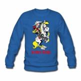 Spreadshirt Lucky Luke mit Pferd Jolly Jumper Männer Pullover - 1