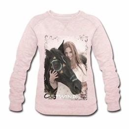 Spreadshirt OSTWIND Aufbruch Nach Ora Mika Und Ostwind Foto Frauen Bio-Sweatshirt von Stanley & Stella - 1