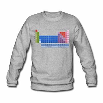 Spreadshirt Periodensystem der Elemente Männer Pullover - 1