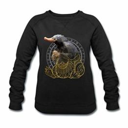 Spreadshirt Phantastische Tierwesen Niffler Frauen Bio-Sweatshirt von Stanley & Stella - 1