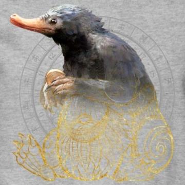 Spreadshirt Phantastische Tierwesen Niffler Männer Pullover - 2
