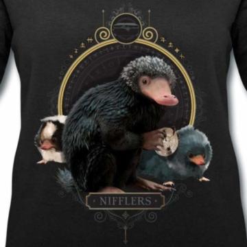 Spreadshirt Phantastische Tierwesen Nifflers Frauen Bio-Sweatshirt von Stanley & Stella - 2