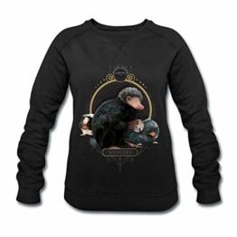 Spreadshirt Phantastische Tierwesen Nifflers Frauen Bio-Sweatshirt von Stanley & Stella - 1