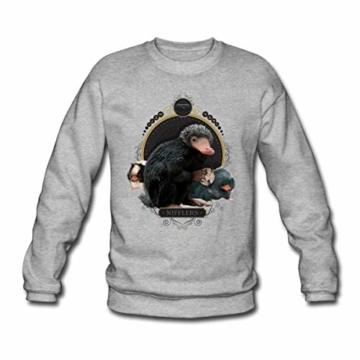 Spreadshirt Phantastische Tierwesen Nifflers Männer Pullover - 1