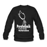 Spreadshirt Pyrotechnik ist kein Verbrechen Männer Pullover - 1