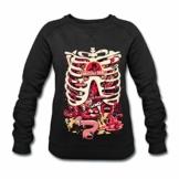 Spreadshirt Rick and Morty Anatomy Park Vergnügungspark Frauen Bio-Sweatshirt von Stanley & Stella - 1