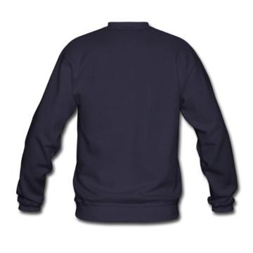 Spreadshirt Silhouette Mammut Line Art Männer Pullover - 3