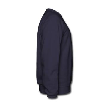 Spreadshirt Silhouette Mammut Line Art Männer Pullover - 4