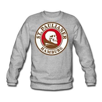 Spreadshirt St. Paulianer Totenkopf Mönch Männer Pullover - 1