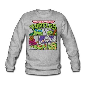 Spreadshirt TMNT Turtles Splinter Shredder Männer Pullover - 1