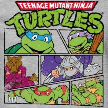 Spreadshirt TMNT Turtles Splinter Shredder Männer Pullover - 2
