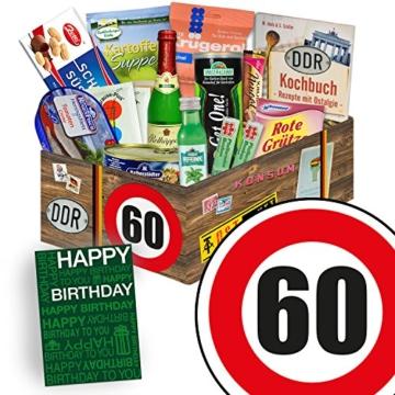 DDR Paket L   Geburtstag 60   Geschenkset Mutter   Spezialitätenset - 1