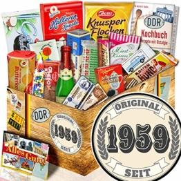 Original seit 1959 + Geschenk Ost-Süßigkeiten + Geschenk zum 60. Geburtstag - 1